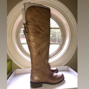 OTK Leather Brown Boots